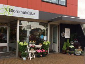 Blommehuske foto